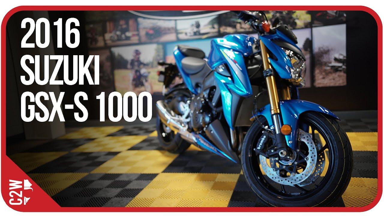 2016 Suzuki GSX-S 1000 | First Ride (4k)
