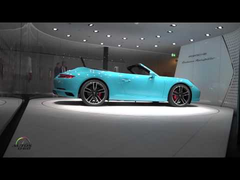 2016 Porsche 911 Carrera at the IAA International Motor Show in Frankfurt