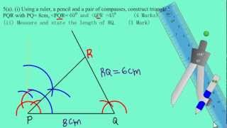 csec cxc maths past paper 2 question 5a may 2012 exam solutions answers by will edutech