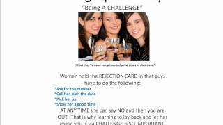 Dating Tips For Guys:  Being A CHALLENGE To Her