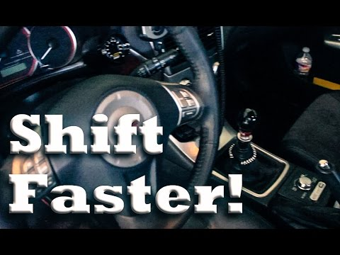 Tips for Quicker Shifting   Advanced Manual Techniques
