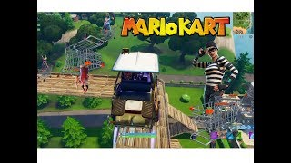 Fortnite Mario Kart Race Course!