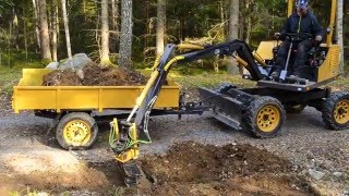 Homemade excavator - Fodere 2