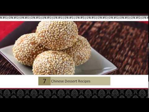 Chinese Dessert Recipes