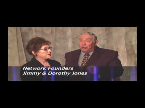 TV NETWORK FOUNDERS JIMMY & DOROTHY JONES