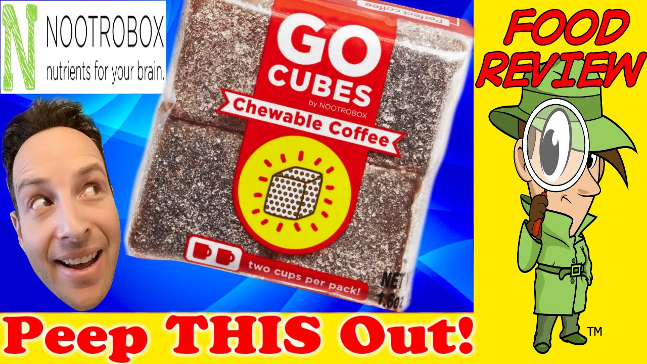 Nootrobox Go Cubes Chewable Coffee Review Peep This Out Youtube