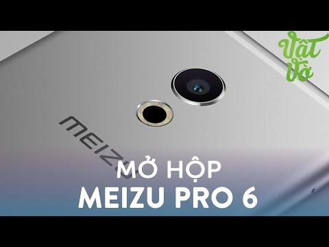 Vật Vờ| Mở hộp & đánh giá nhanh Meizu Pro 6: có 3D Touch, 10 đèn Flash