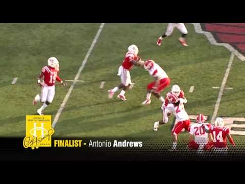 2012 Paul Hornung Award finalist Antonio Andrews