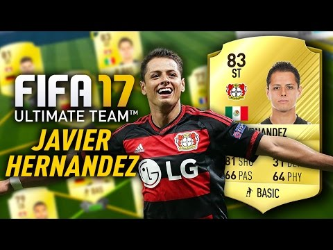 FIFA 17 JAVIER HERNANDEZ (83) PLAYER REVIEW! FIFA 17 ULTIMATE TEAM CHICHARITO!