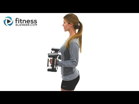 Kelli's Upper Body Workout for Arms, Shoulders and Upper Back - Upper Body Superset Workout