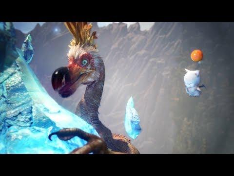 Monster Hunter World: Final Fantasy Crystal Kulu-Ya-Ku Boss Fight (Long Sword / Solo)