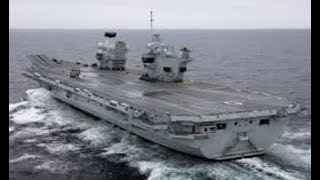 """Breaking: """"UK Challenges China"""" In South China Sea (Aircraft Carrier) Show Of Force"""