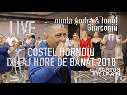Costel Hornoiu si Banat Express - Colaj hore de banat 2018 LIVE nunta Andra si Ionut Giurconiu