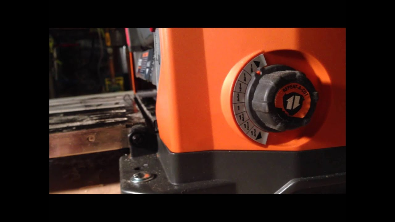 Ridgid 13 Inch Thickness Planer R4331 Details Review Youtube