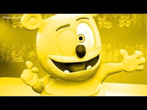 YELLOW Gummibär COLORFUL Czech HD Gummy Bear Song