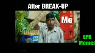 Vadivelu love break-up for WhatsApp status