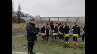 CZ1-Mecz Kontrolny FC Yellow Bolesławiec vs WKS Śląsk Wrocław - Wrocław 22.12.2018 - I Kwarta 1/3
