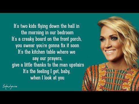 Kingdom - Carrie Underwood (Lyrics) 🎵