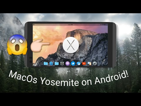 MacOs X 10.10 On Android! (Beta Launcher)