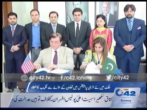 42 Report : New energy projects ceremony held in Lahore