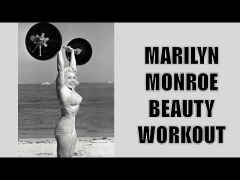 MARILYN MONROE'S WORKOUT!