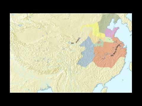 El periodo de los Reinos Combatientes China