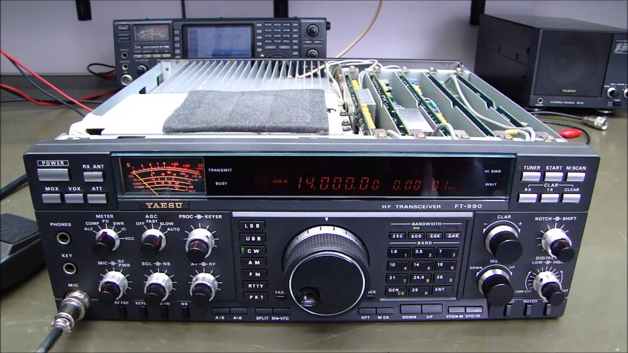 Yaesu ft-990 is a model line of amateur radio transceiver manufactured by the yaesu corporation in japan from 1991 to 1999 it is a descendant of and shares.