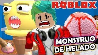 Giant Ice Cream in Roblox Ice Cream Shop ? Roblox Karim Games Play