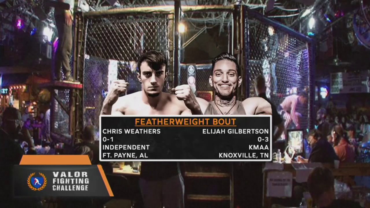 VFC 70 Elijah Gilbertson vs Chris Weathers