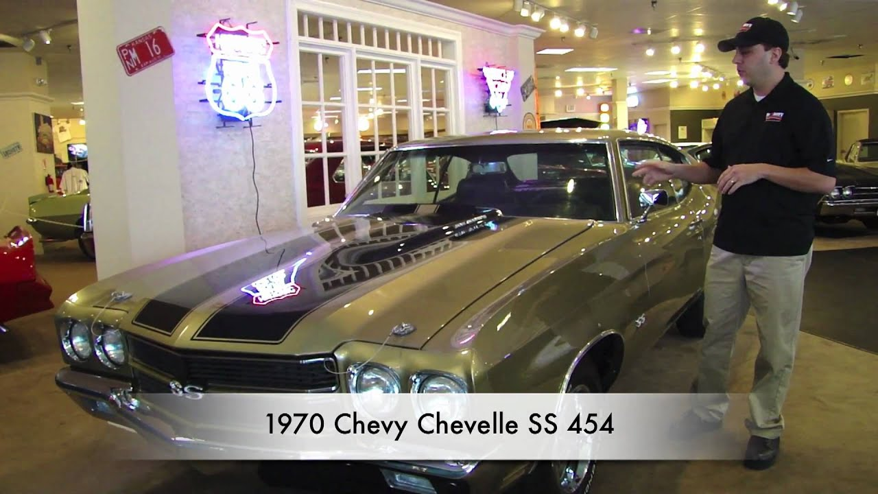 1970 Chevelle Ss 454 Gold For Sale Youtube