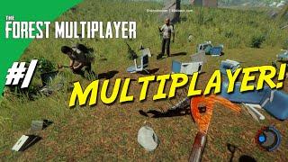 The Forest Multiplayer dansk - Ep 1 - MULTIPLAYER!