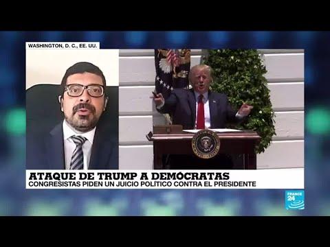 """Leonardo Coutinho: """"Desde el primer día han intentado sacar a Trump con el 'Impeachment'"""""""