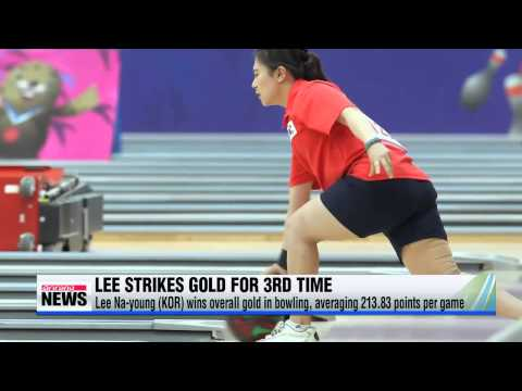 Lee Na-young becomes S. Korea′s first athlete to win 3 gold medals after taking