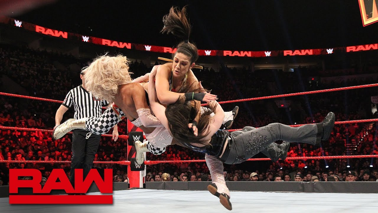 Banks & Bayley vs. Fox & Cross - WWE Women's Tag Title Qualifying Match: Raw, Feb. 4, 2
