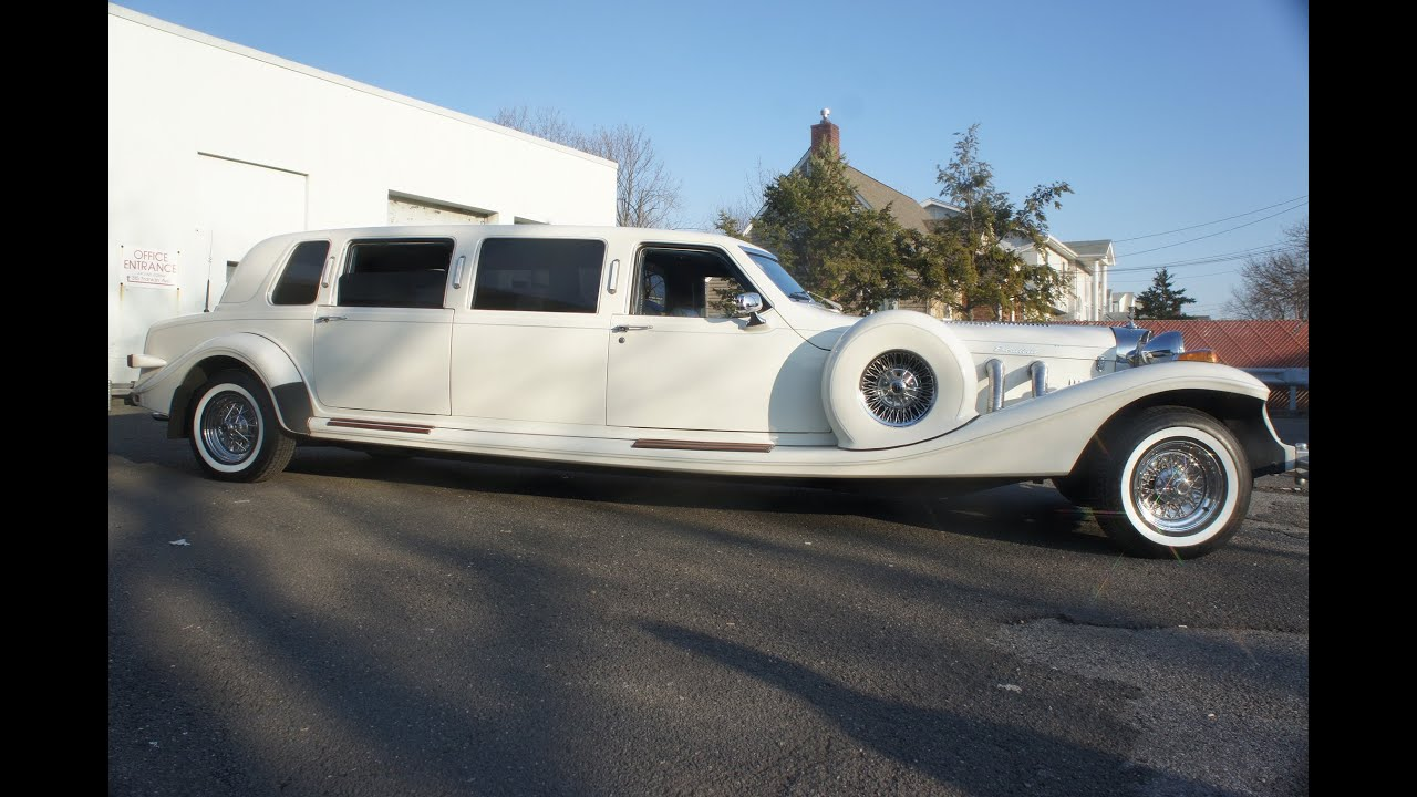 1989 Excalibur Stretch Limo For Sale~Very Rare and Unique~Built By ...