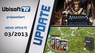 Ubisoft-TV News 03/2013 mit Assassin