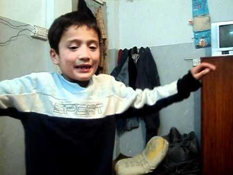 Baltistani Kid Singing Balti Song 2011
