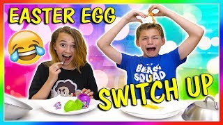 EASTER EGG SWITCH UP CHALLENGE 😆 | We Are The Davises