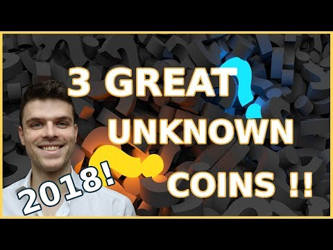 Top 3 SECRET Coins you have NEVER heard of! Huge Returns for 2018