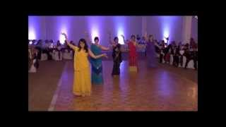 Great Indian wedding dance choreography.