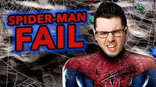 SPIDER-MAN ROCK CLIMBING DISASTER (Cell Outs)