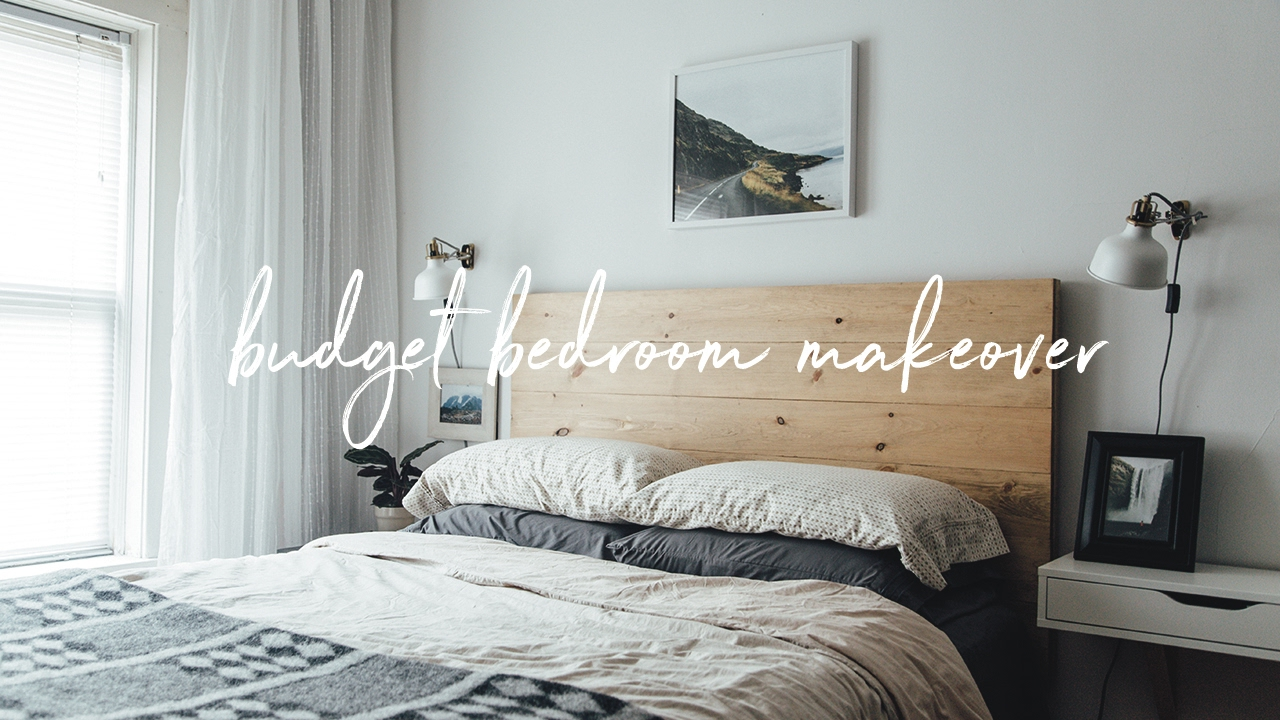 budget bedroom apartment makeover urban outfitters inspired