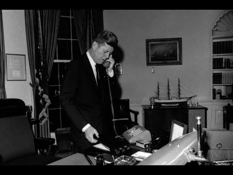 Phone Call with General Eisenhower during Cuban Missile Crisis