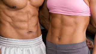 Видеоурок Накачать пресс,  убрать жир на животе и уменьшить талию