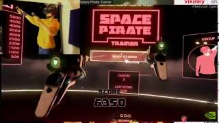 Benzaie en sueur - Space  Pirate Trainer - (VR 60fps)