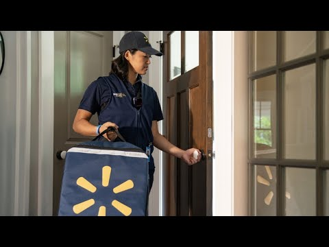 None - Walmart will start delivery groceries...and putting them in your fridge