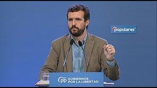 """Casado acusa al Gobierno de utilizar el 'pin parental' como """"cortina de humo"""""""