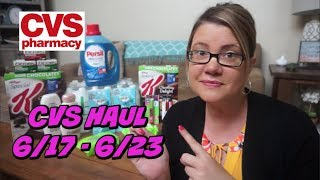 CVS HAUL 6/17 - 6/23 ~ MoneyMaker Razors, cheap Excedrin & more!