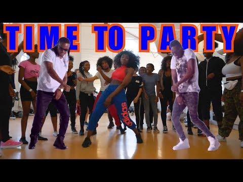 Flavour - Time to Party (Feat. Diamond Platnumz) Official Dance Video
