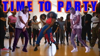 Flavour - Time to Party (Feat. Diamond Platnumz) Official Dance Video